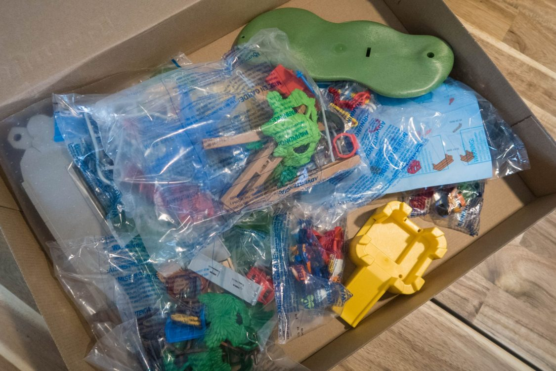 In the Playground with Playmobil - in the box