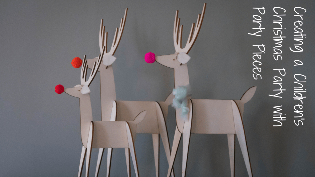 Creating a children's Christmas party with Party Pieces - blog post header