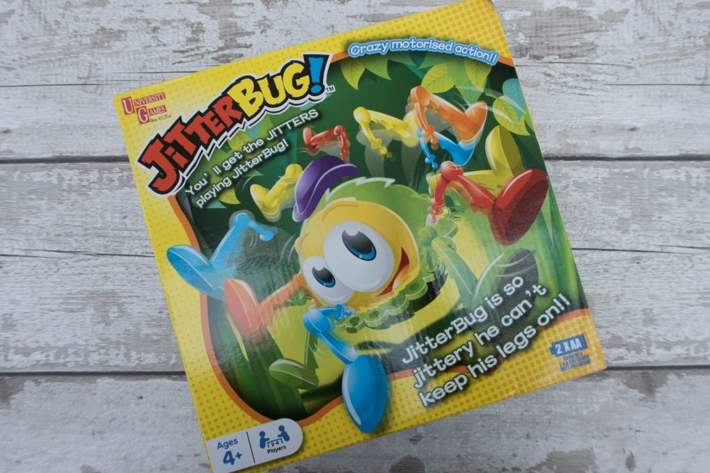 Jumping and Jittering with Jitterbug - the packaging