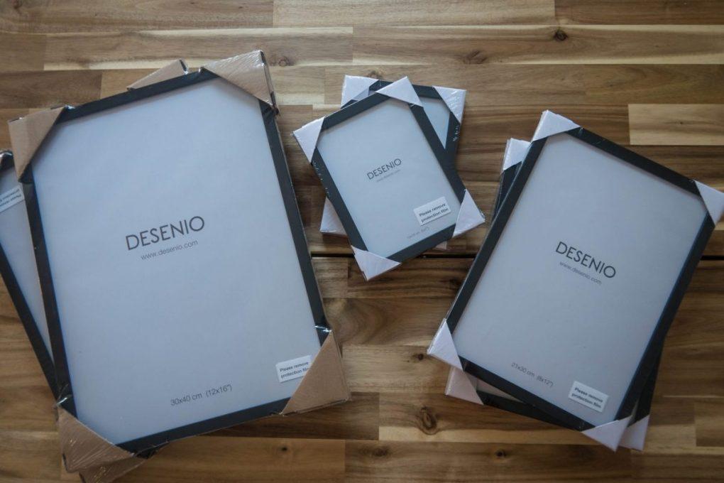 Scandinavian Design with Desenio - frames
