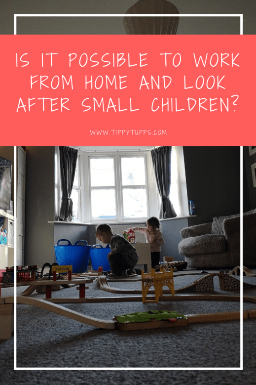What do you do when the snow day arrives or childcare lets you down? Is it really possible to work from home and look after small children?