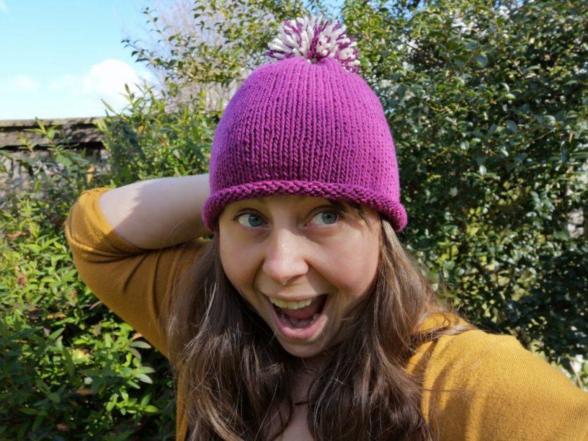 Adult Hat – free knitting pattern