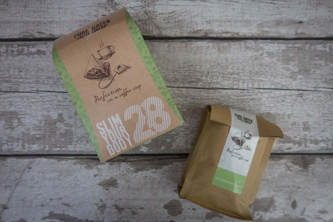 Pure Green Coffee packaging