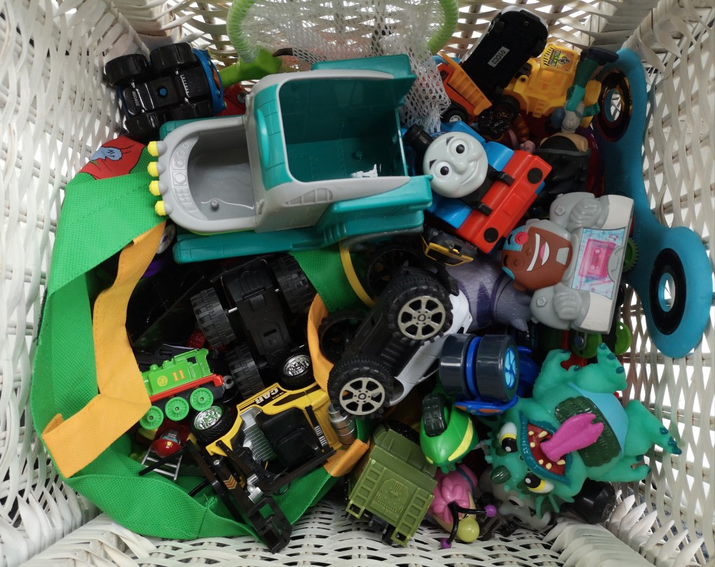 Sort out old toys