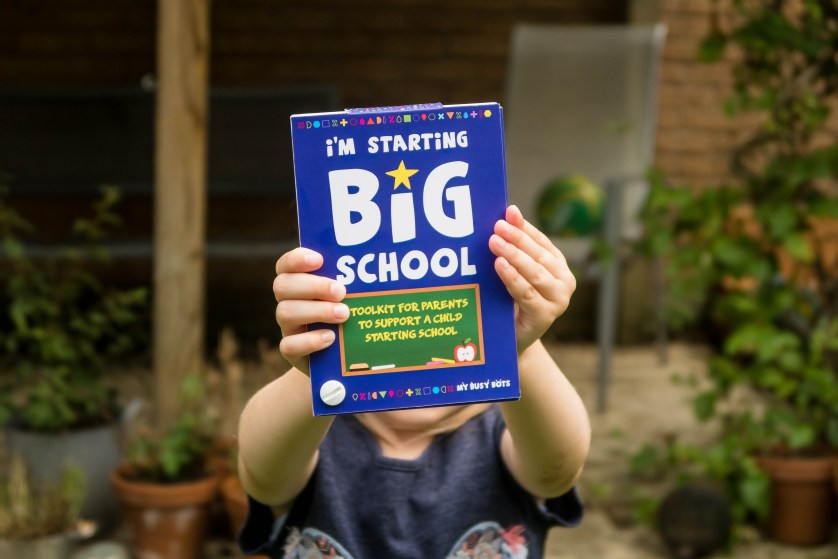 School Starter Kit with My Busy Bots – review and giveaway (AD)