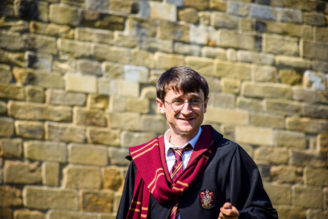Harry Potter in the magic show