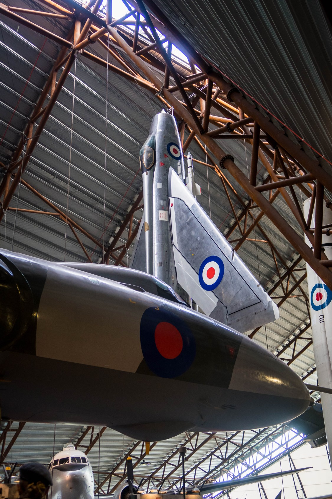 the exhibition at RAF Cosford