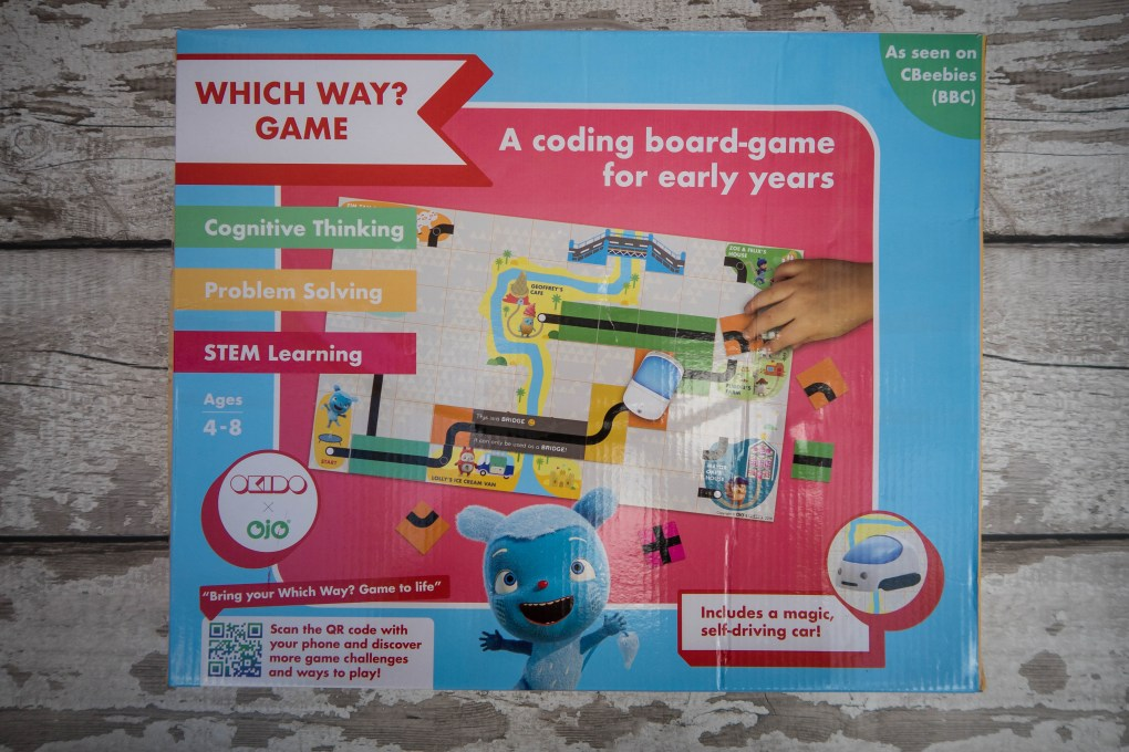 OKIDO Which Way game - box