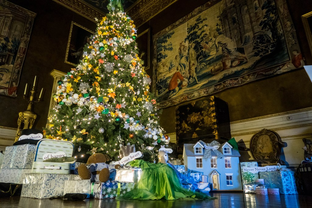 Finding Neverland at Christmas at Chirk Castle
