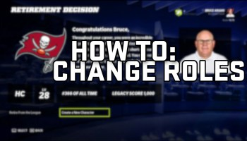 How to Change Your Role in Madden 22