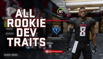Madden 22 Rookie Development Traits