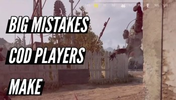 Big Mistakes COD Players Make