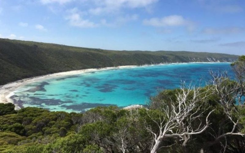 Punto panoramico Observtory Point nell Great Ocean Drive di Esperance