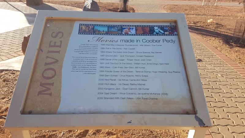 Tutti i film girati a Coober Pedy in South Australia