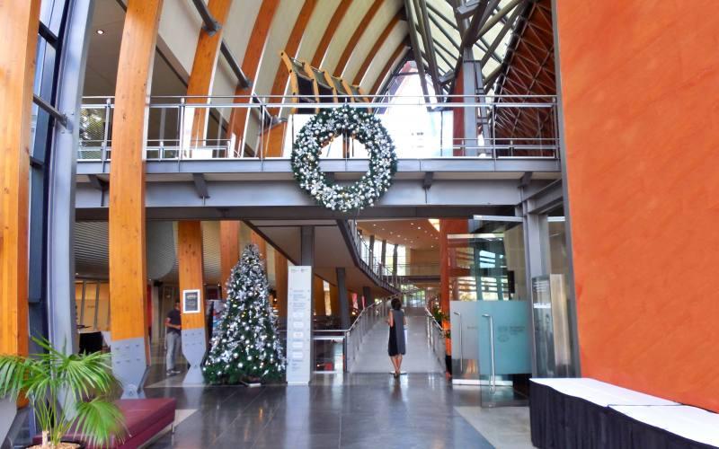 """Entrata del museo enologico australiano """"National Wine Centre"""" di Adelaide"""