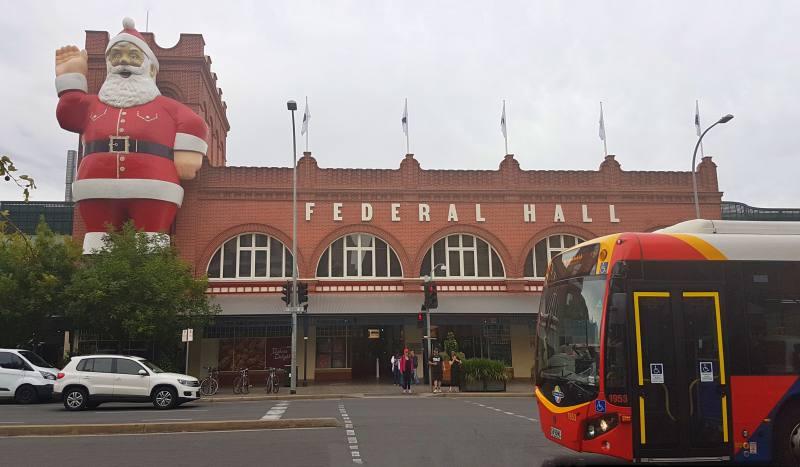 """Facciata esterna del Mercato Centrale """"Central Market"""" di Adelaide"""