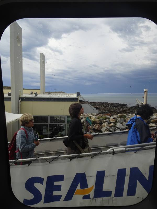 Imbarco del traghetto Sealink per Kangaroo Island