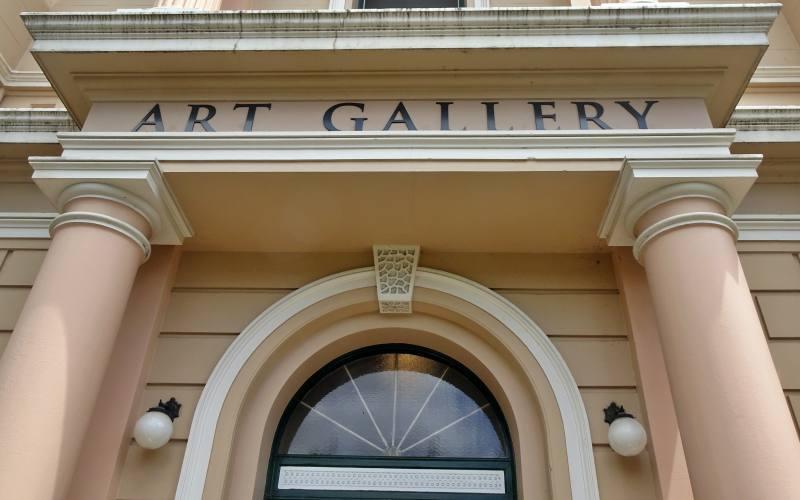 Ingresso Art Gallery di Launceston