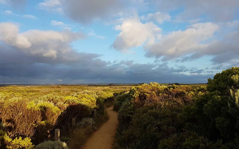 Panorama durante i vari percorsi di Bay of Islands nella Great Ocean Road