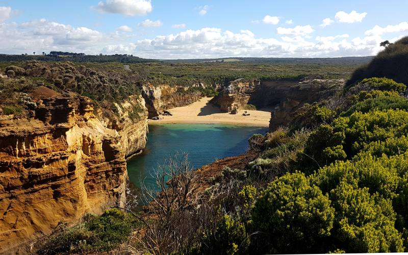 Punto panoramico Loch Ard Gorge, imperdibile tappa della Great Ocean Road