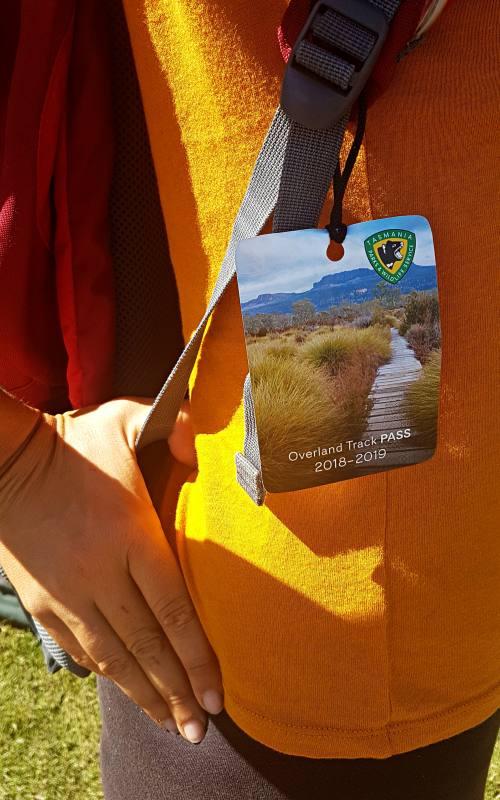Targhetta Overland Pass, biglietto d'ingresso per il trekking australiano