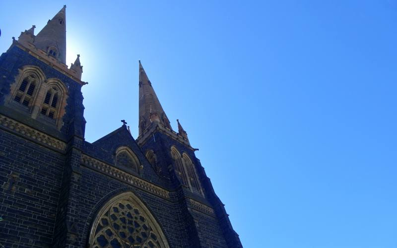 La cattedrale St. Paul's Cathedral di Melbourne