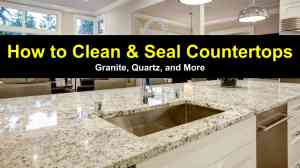 When To Seal Granite Countertops  camizu
