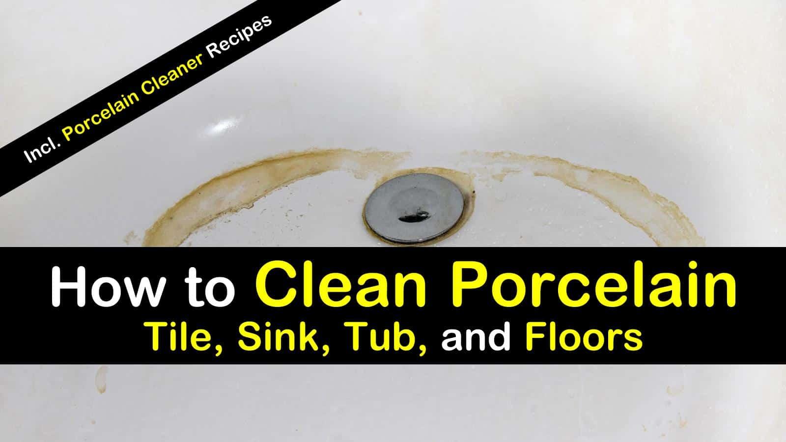 12 ideal ways to clean porcelain tile