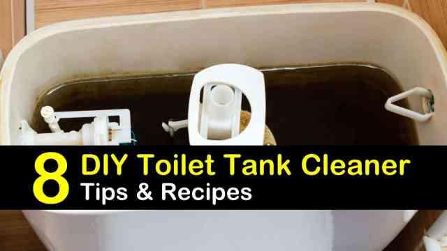 30 Simple DIY Ways to Clean a Toilet Tank