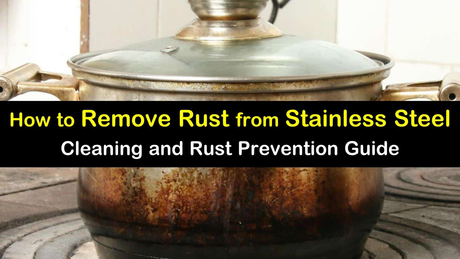remove rust from stainless steel