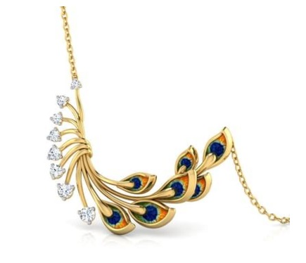 Royalty Peacock Necklace