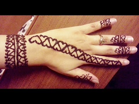 Simple wrist and finger designs