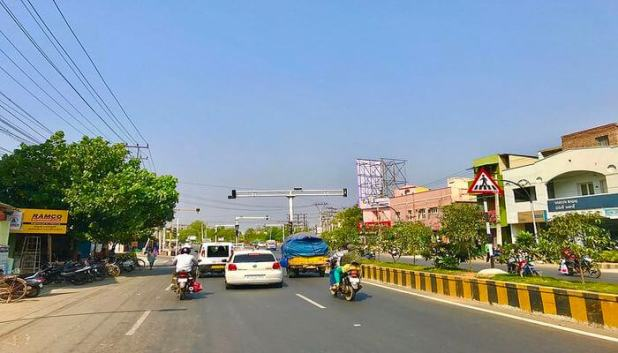 Old City Roads and Eluru Road