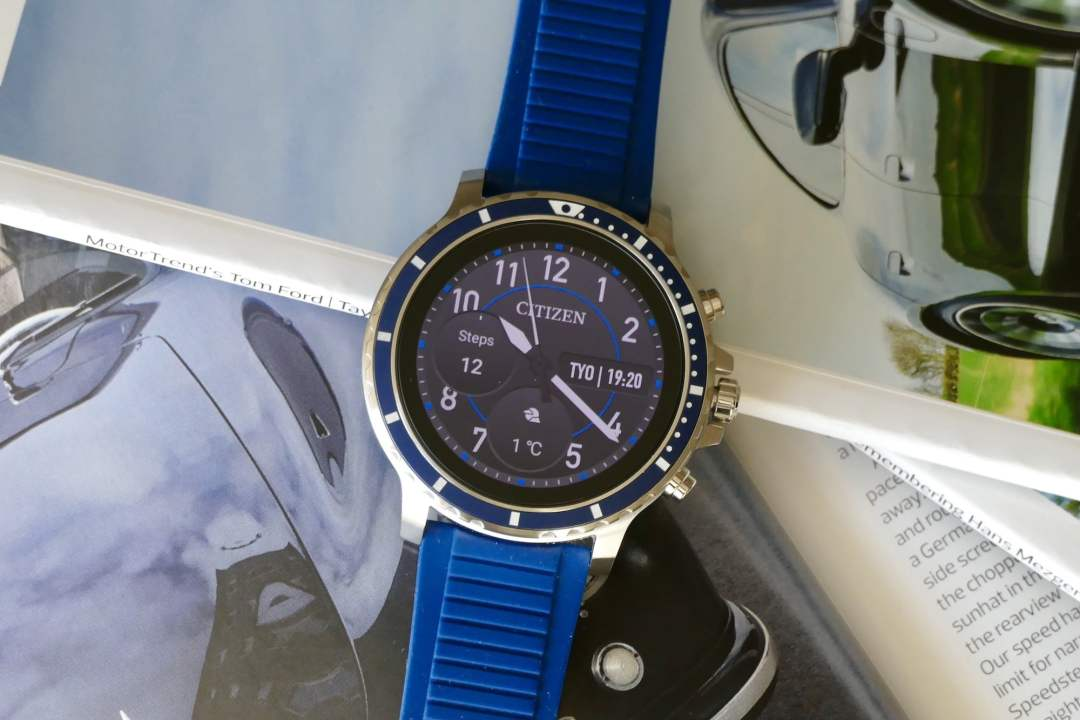 citizen cz smart front