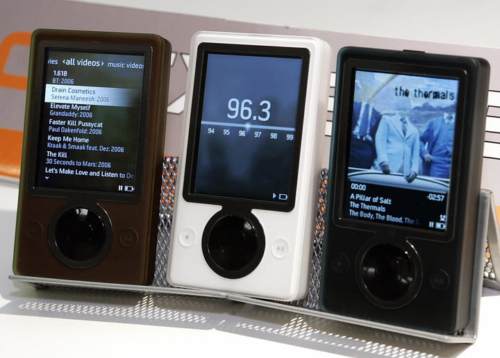 microsofts new zune music player is sho