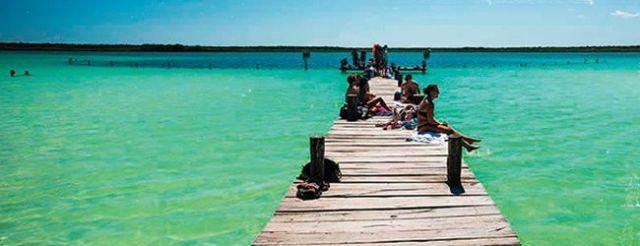 laguna kaan luum,lugar turistico de quintana roo, mexico