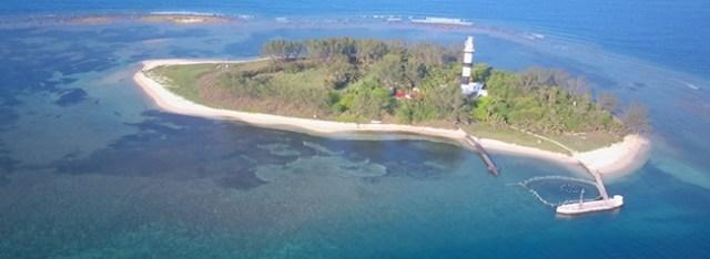 playa isla de los sacrificios, veracruz, mexico