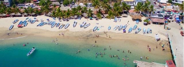 playa puerto angel, oaxaca mexico