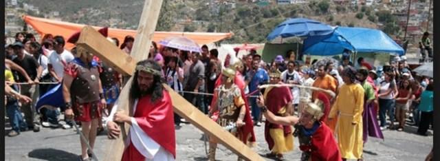 procesiones de semana santa, tradicion mexicana