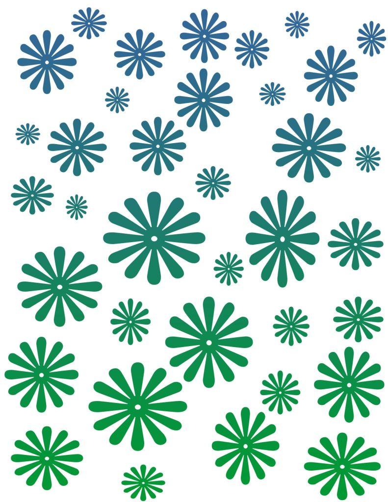 papel deco verde