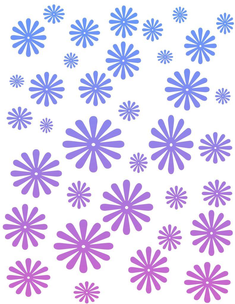 papel edco azul