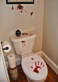 decorar con sangre