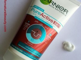 Garnier Pure Active 3 in 1 Wash-Scrub-Mask Review