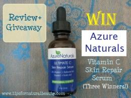 Azure Naturals win vitamin c serum