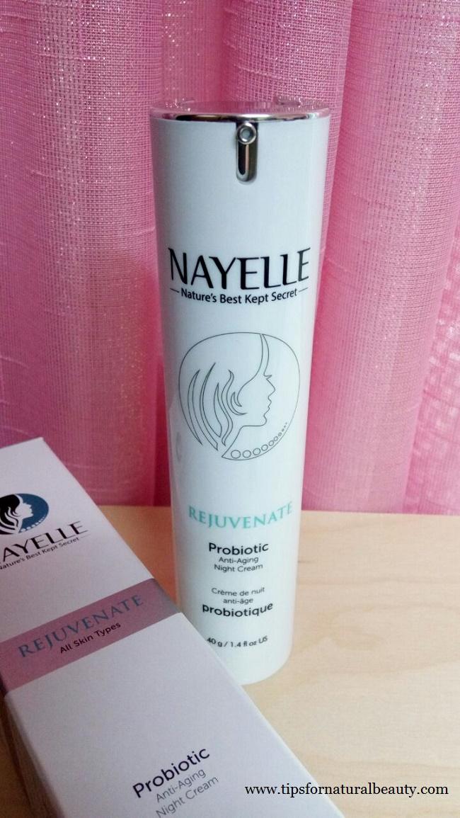 NAYELLE Rejuvenate Probiotic Night Cream