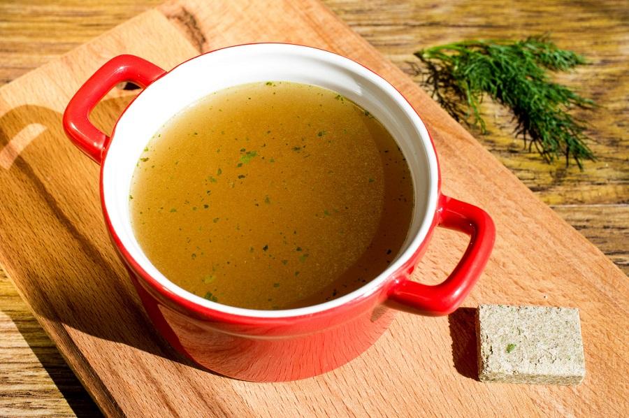 Turmeric broth recipe