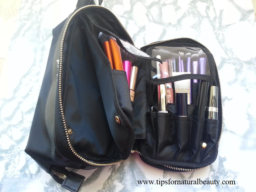 Kinzd Travel Cosmetic Bag Organizer Review