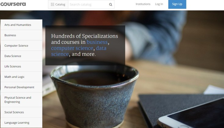 Free Online Learning Sites - Coursera