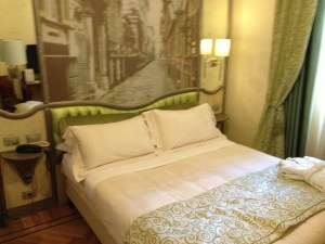 Grand Hotel Savoia Room Genoa Italy (Room 318)