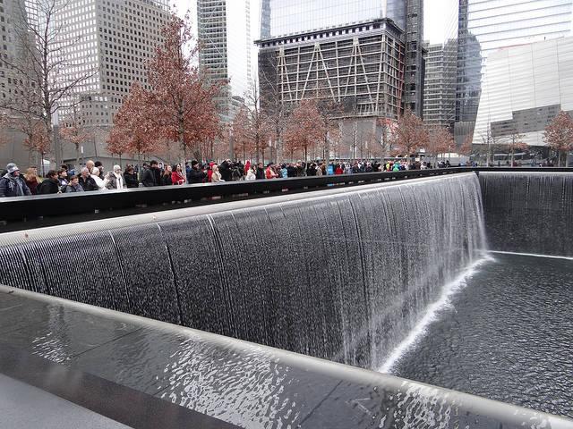 September 11 Memorial Fountains New York